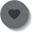 Heart Medical Button Icon