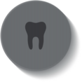 Dental Button Icon