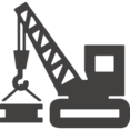 Glyph Crane Icon