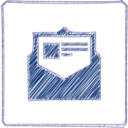 Email Scribble-Style Icon