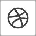 Glyph Dribble Icon