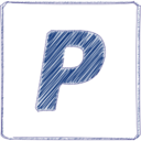 PayPal Scribble-Style Icon