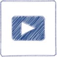 YouTube Scribble-Style Icon
