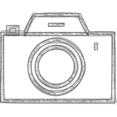 Handdrawn Camera Icon