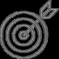 Handdrawn Target Icon