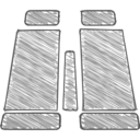Handdrawn Binoculars Icon