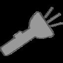 Handdrawn Flashlight Icon