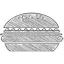 Handdrawn Hamburger Icon