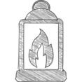 Handdrawn Lantern Icon