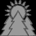 Handdrawn Sunrise Icon