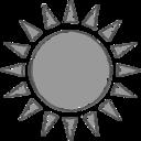 Handdrawn Sun Icon
