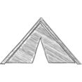 Handdrawn Tent Icon
