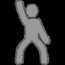 Disco Sketch-Style Icon