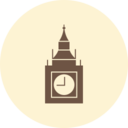 Big Ben Retro Icon