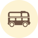 Bus Retro Icon