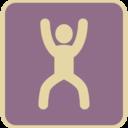 Vintage Squat Icon
