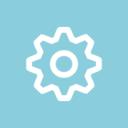 Gear Line Icon