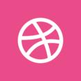 Square Dribbble Icon