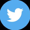 Circle Twitter Icon