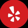 Circle Yelp Icon