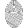 Handdrawn Mouse Icon