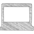 Handdrawn Laptop Icon