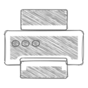 Handdrawn Printer Icon