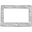 Handdrawn Tablet Icon