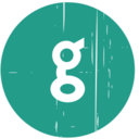 Google Blue Distressed Icon