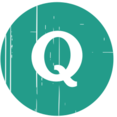 Quest Blue Distressed Icon