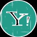 Yahoo! Blue Distressed Icon