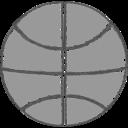 Hand-Drawn Basketball Icon