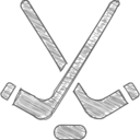 Hand-Drawn Hockey Icon