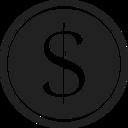 Glyph Coin Icon