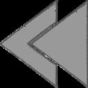 Handdrawn Rewind Icon