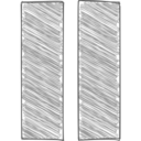 Handdrawn Pause Icon