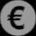 Handdrawn Euro Icon