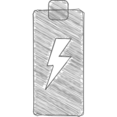Charging Hand-Drawn Icon