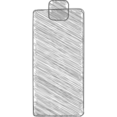 100% Full Battery Hand-Drawn Icon