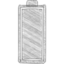 Full Battery Hand-Drawn Icon