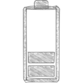 Battery Running Low Hand-Drawn Icon