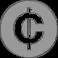 Handdrawn Ghana Cedi Icon
