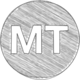 Handdrawn Mozambique Metical Icon