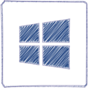 Handdrawn Windows Icon