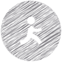 AIM Scribble Style Icon