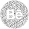 Behance Scribble Style Icon