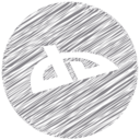 DeviantArt Scribble Style Icon