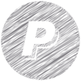 PayPal Scribble Style Icon