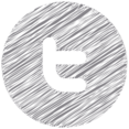 Twitter Scribble Style Icon