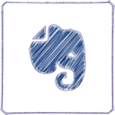 Handdrawn Evernote Icon